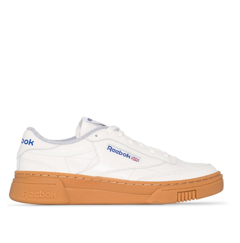 Club C Stacked Leather Sneakers