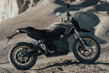 Zero's DSR electric motorcycle.