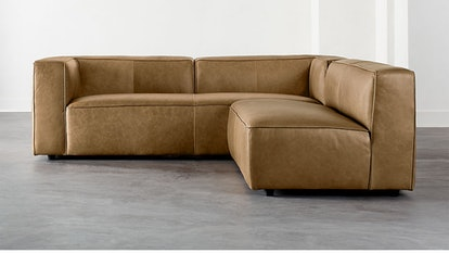 LENYX 2-PIECE LEATHER SECTIONAL