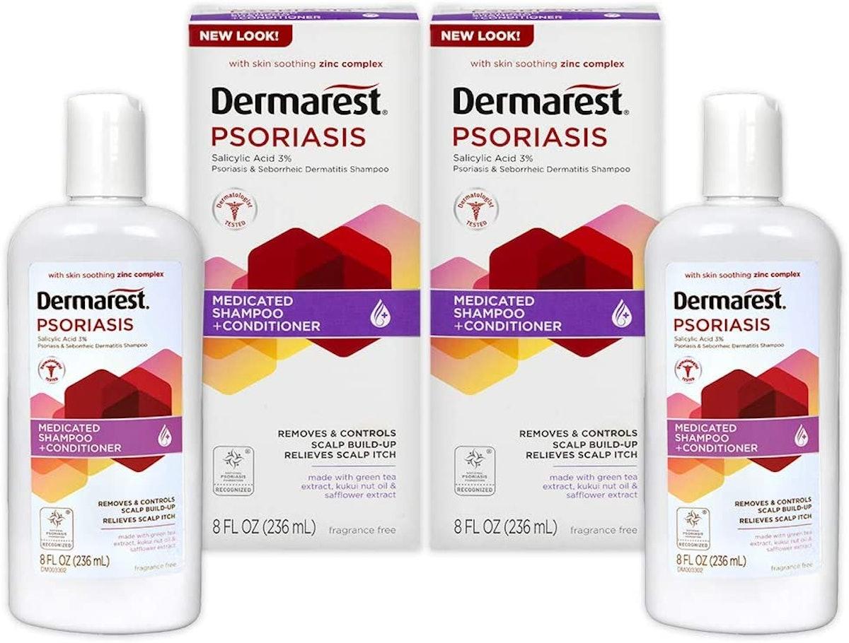 Dermarest Psoriasis Medicated Shampoo & Conditioner (2-Pack)