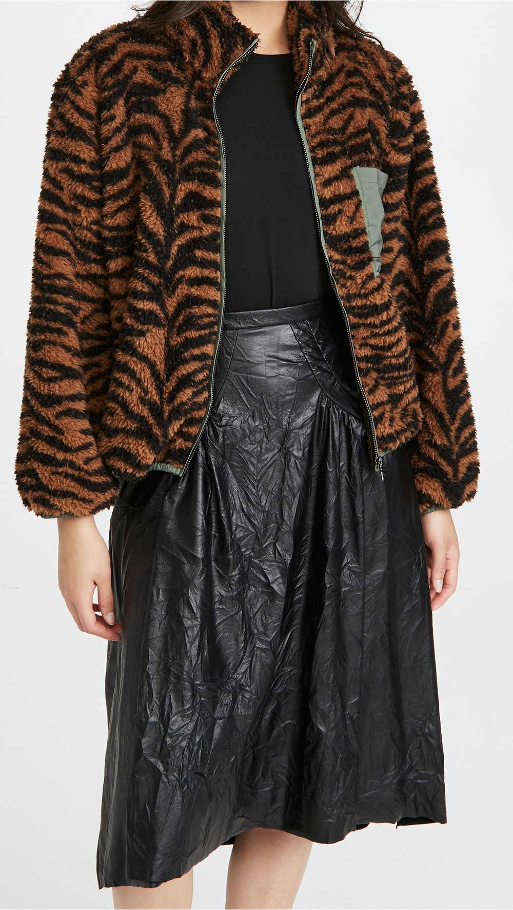 Tiger Fleece Jacket