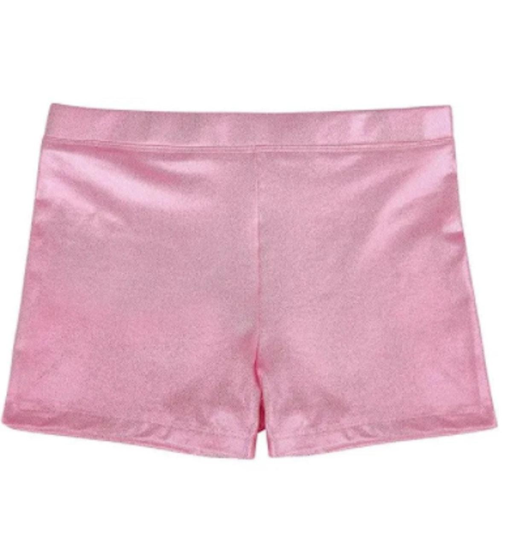 HDE Dance Short Glitter Sparkle Tumbling Bottoms
