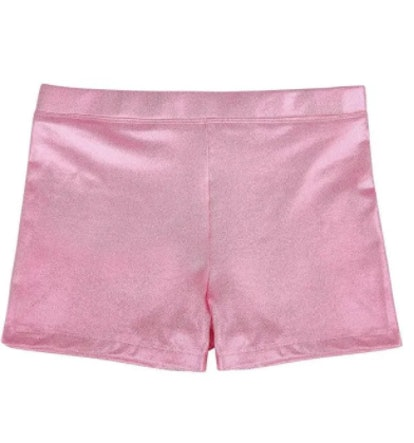 HDE Dance Short Glitter Sparkle Tumbling Bottoms