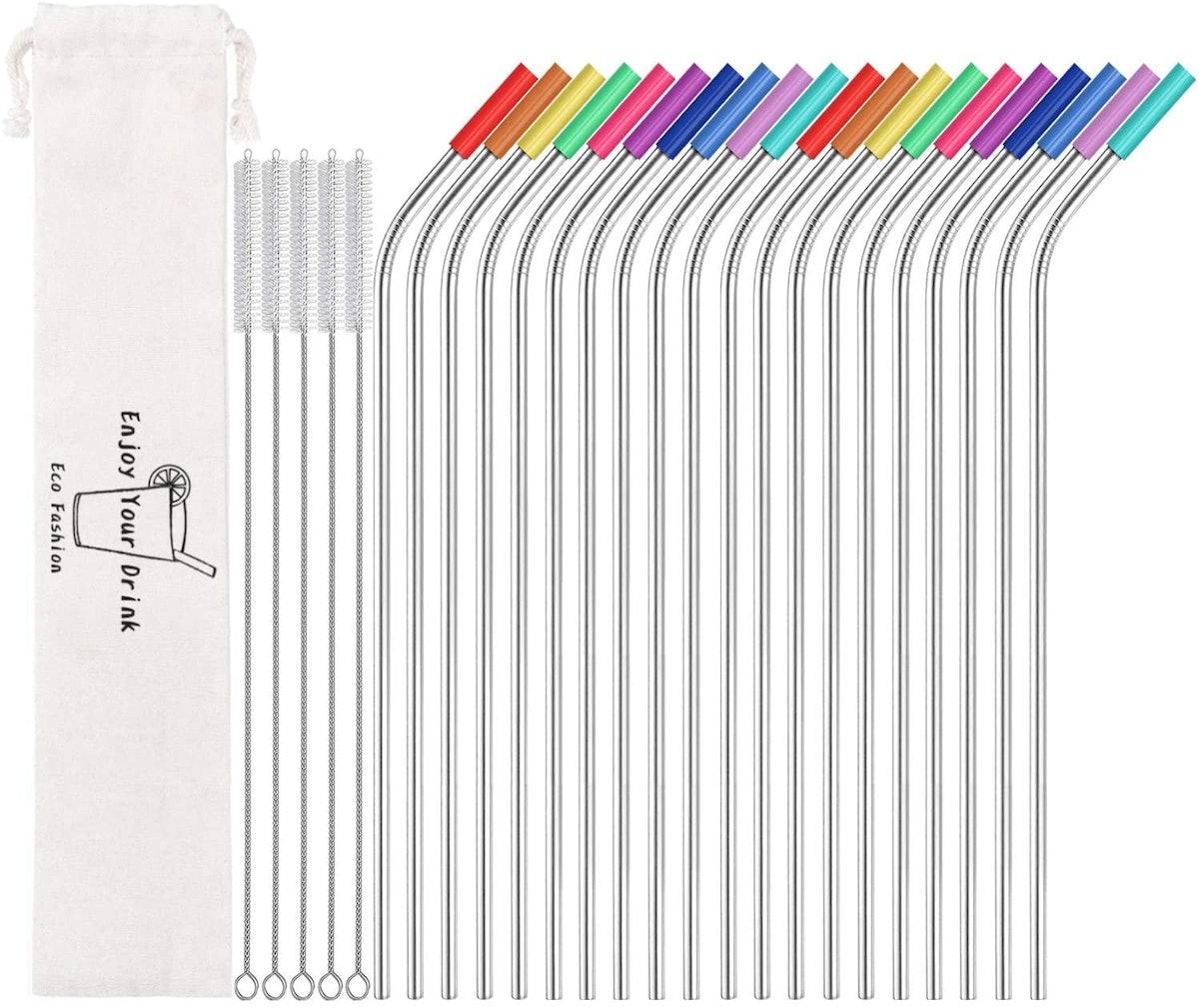 MUTNITT Metal Straw Set (20 Straws)