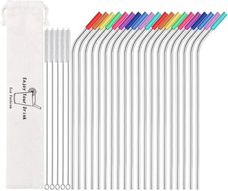 MUTNITT Metal Straw Set (20 Straws)