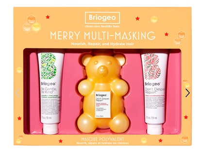 Briogeo Merry Multi-Masking Kit ft. Don't Despair Repair Deep Conditioning Honey Bear Hair Mask