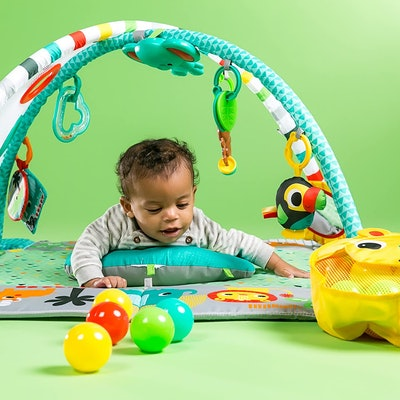 Bright Starts 4-in-1 Rounds of Fun Activity Gym & Ball Pit