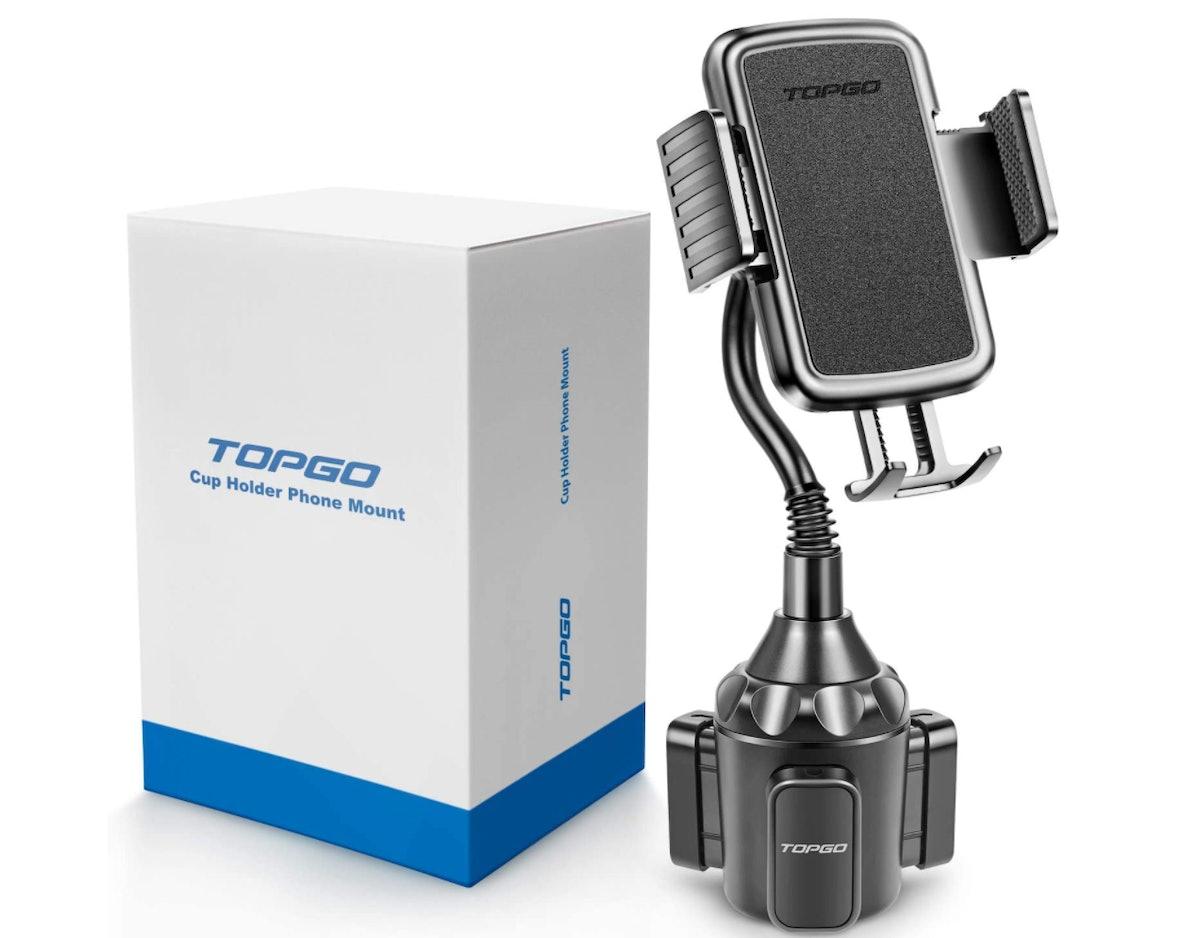 TOPGO Cup Holder Phone Mount