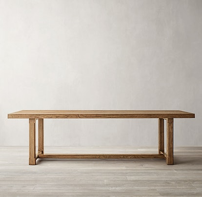 Cayden Campaign Rectangular Extension Dining Table