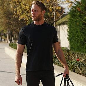 Merino.tech Organic 100% Merino Wool Base Layer T-Shirt