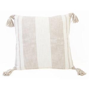 Lucy Cotton Corner Tassel Pillow