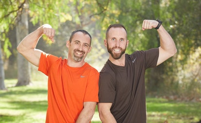 Cody Buell and Nathan Worthington on The Amazing Race via the CBS press site