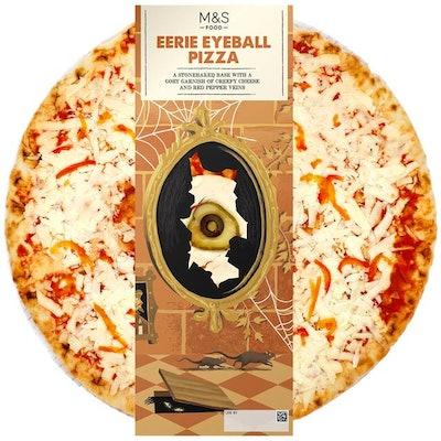 Eerie Eyeball Pizza