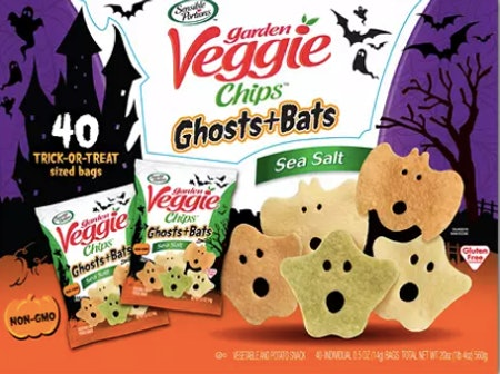 Ghost and Bat Veggie Chips