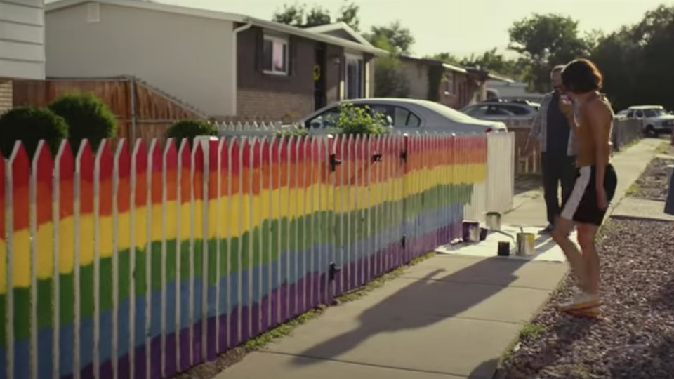 Oreo's new commercial features an LGBTQ+ family.