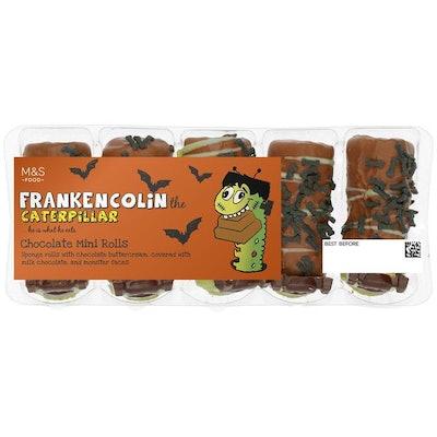 Colin Caterpillar Mini Zombie Cakes