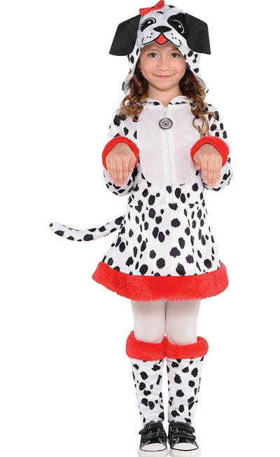 Toddler Girls Dalmatian Costume