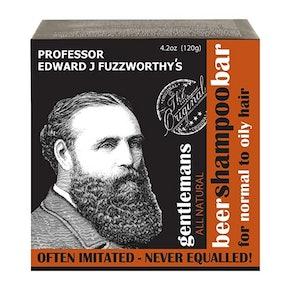 Professor Fuzzworthy's Gentleman's Beer Shampoo Bar, 4.2 oz.