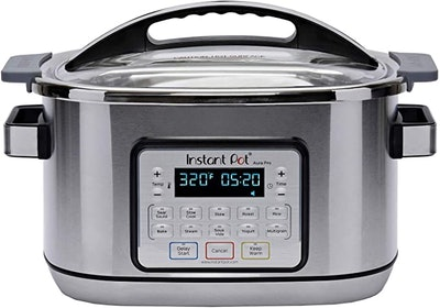 Instant Pot Aura Pro Multi-Use Programmable Slow Cooker with Sous Vide, 8-Quart