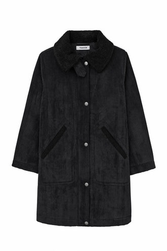 Corduroy Parka Coat