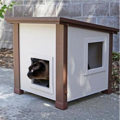 New Age Pet ecoFLEX Albany Outdoor Cat House