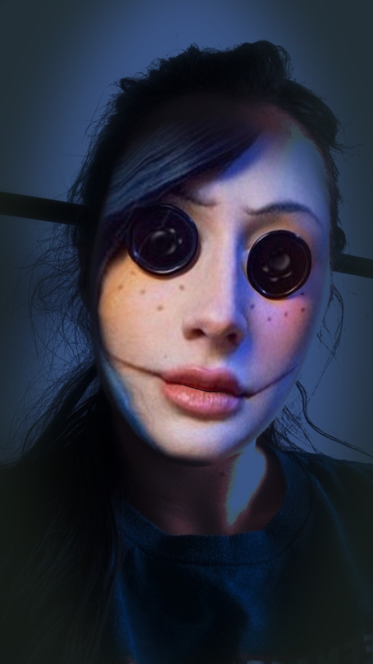 You can transform into characters from scary movies like 'Coraline' and 'It.'