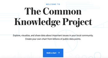 Common Knowledge Project Google homepage