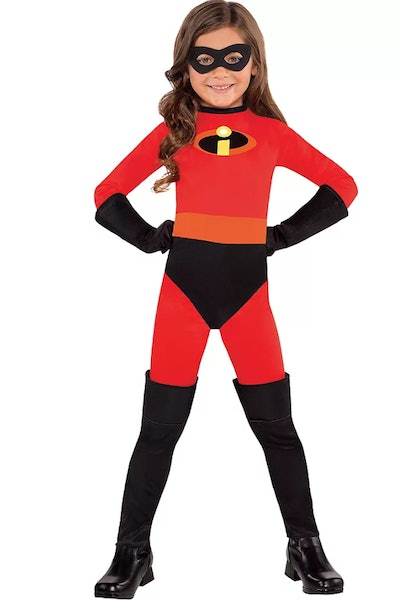 Girls Violet Costume - The Incredibles