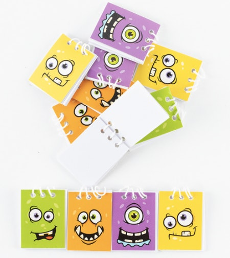 Monster Face Notepads