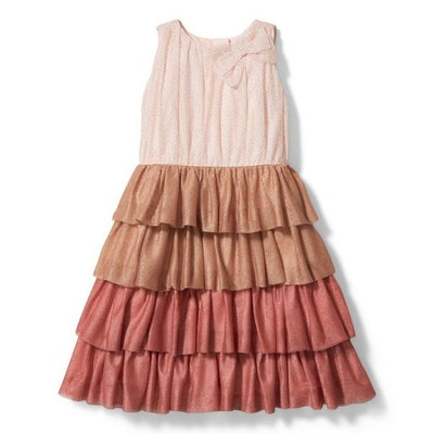 Kristian Loren Glitter Tulle Dress