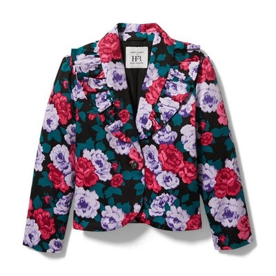 Kimberly Goldson Floral Tux Jacket