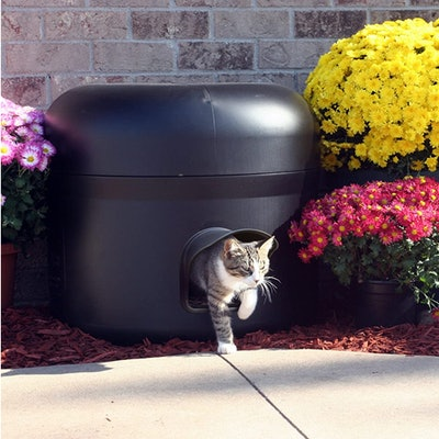 Kitty Tube Outdoor Insulated Cat House