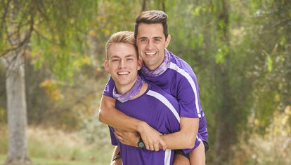 Will Jardell and James Wallington from The Amazing Race via the CBS press site