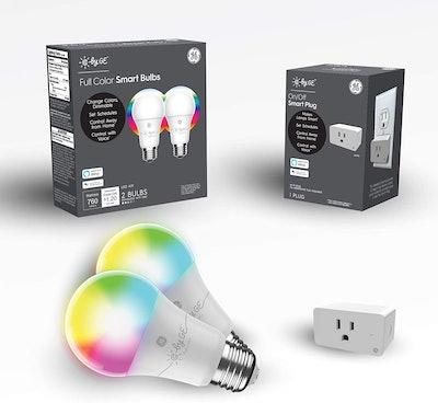 C by GE Smart LED Bulbs + Smart Plug Bundle