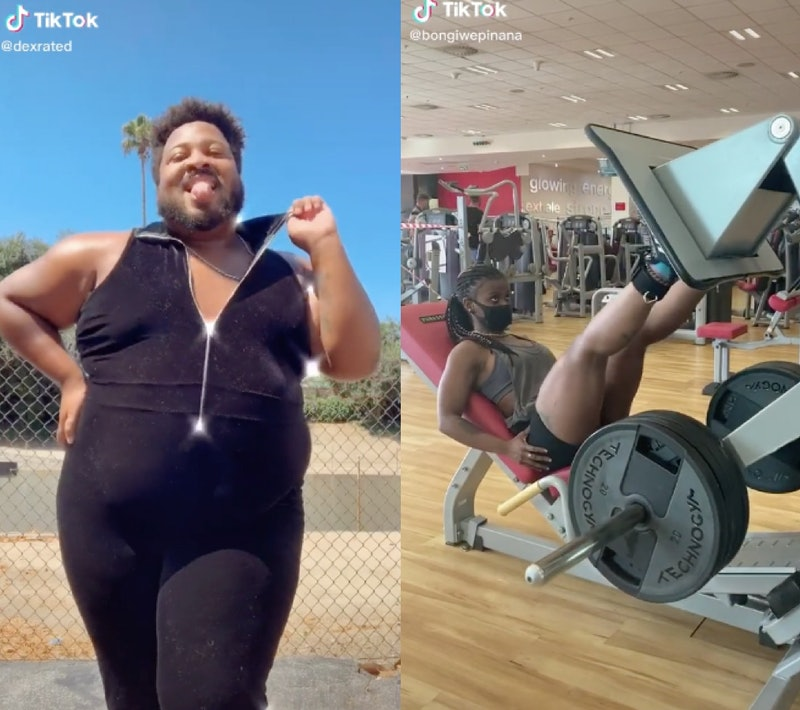 TikTok fitness influencers dance and work out in videos; follow them for tiktok workout inspiration on your for you page.