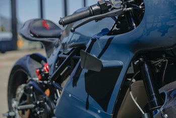 Zero's custom SR/S electric motorcycle made in collaboration with Deus Ex Machina.