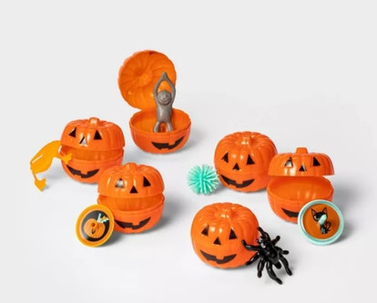 6ct Toy Filled Mini Pumpkin Halloween Party Favors - Hyde & EEK! Boutique™