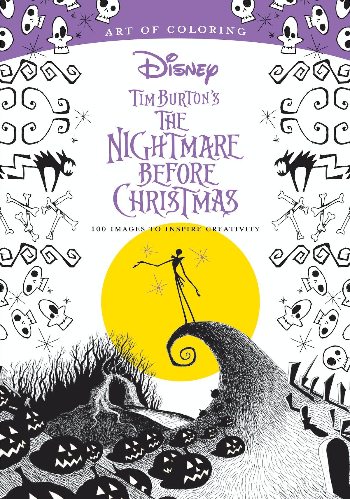 Tim Burton's the Nightmare Before Christmas : 100 Images to Inspire Creativity (Paperback)