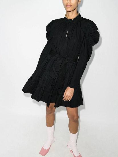 Naima Puff-Sleeve Dress