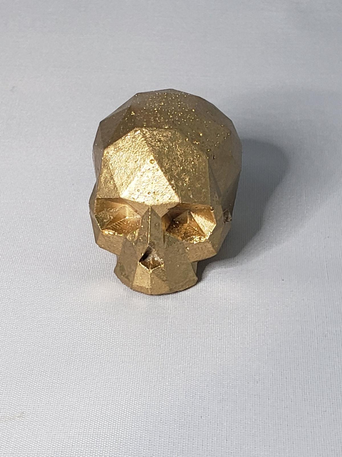 Gold Or Black Skull