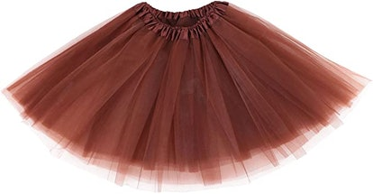Simplicity Women's Adult Classic Elastic 3 or 4 Layered Tulle Tutu Skirt