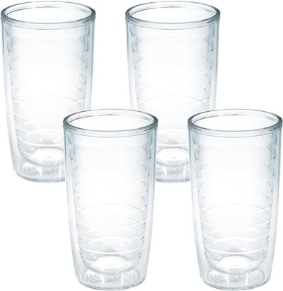 Tervis Clear & Colorful Tumblers (Set of 4)
