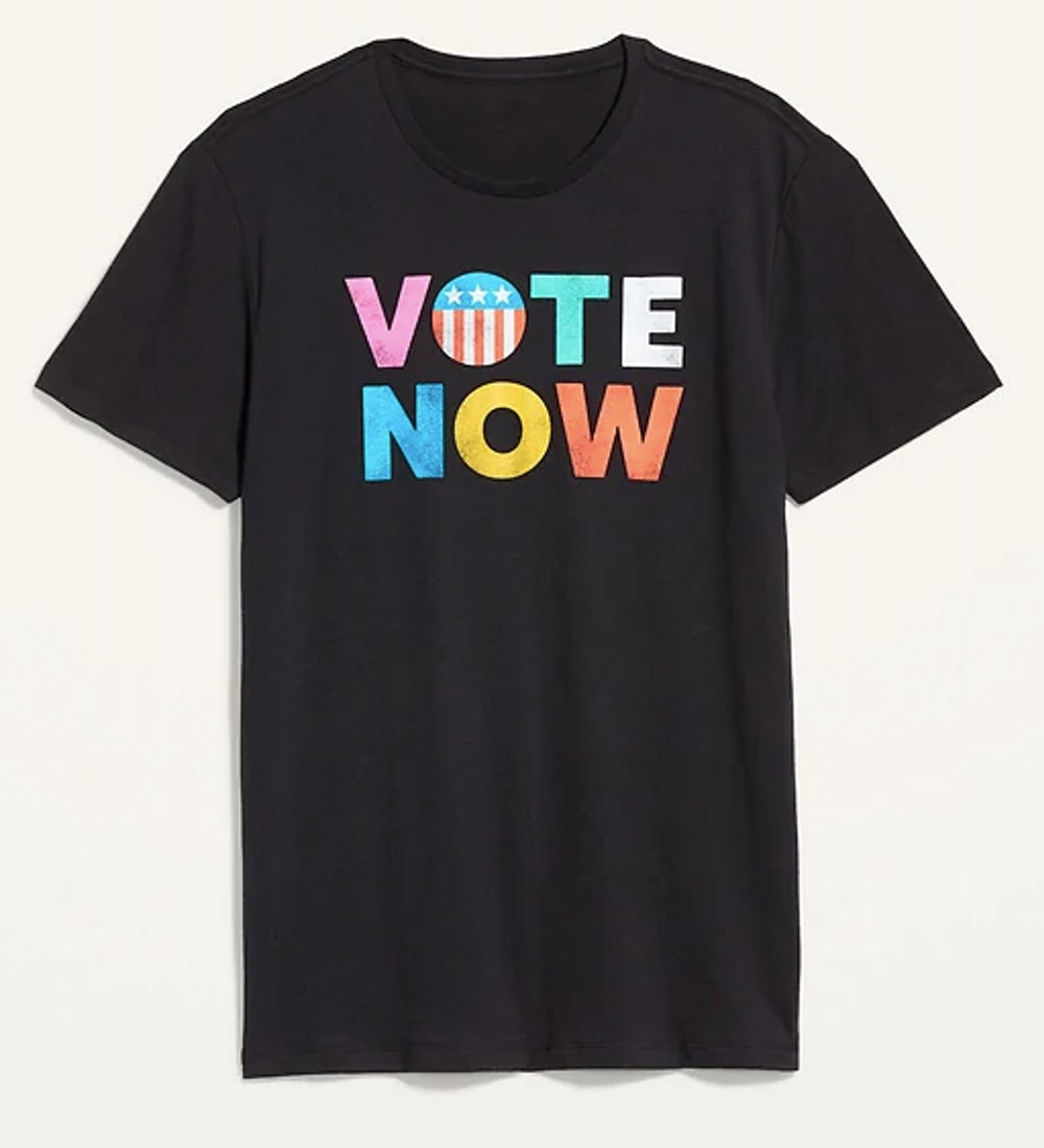 Vote Graphic Gender-Neutral Tee for Men & Women