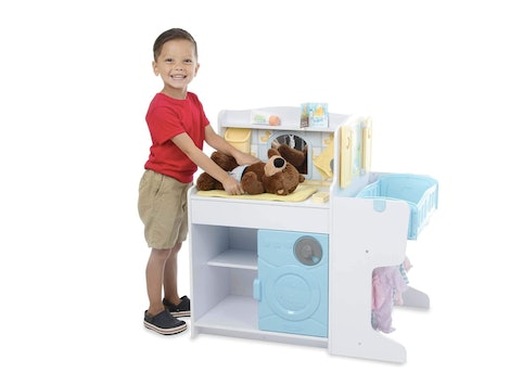 Melissa & Doug Baby Care Center is on major sale this Amazon Prime Day.