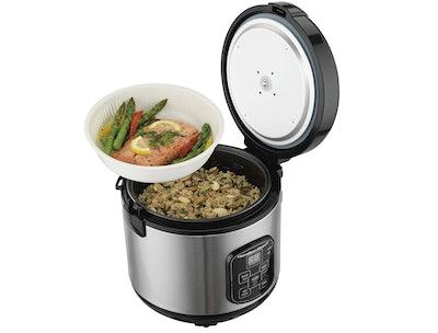 Hamilton Beach Digital Programmable Rice Cooker, 8-Cups