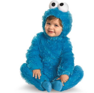 Baby Cookie Monster Costume
