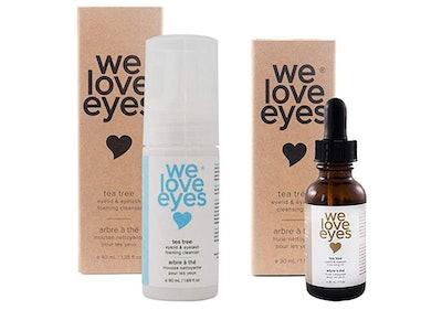 We Love Eyes All Natural Tea Tree Eyelid Cleansing Kit