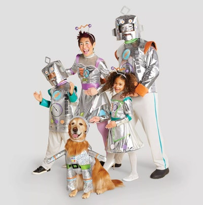 Family Robot Costume Collection