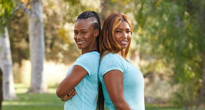 Kellie Wells-Brinkley and LaVonne Idlette from The Amazing Race via the CBS press site