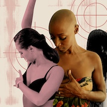 Women give themselves Breast Self-exams. Doctors explain why breast self-exams are no longer recommended.